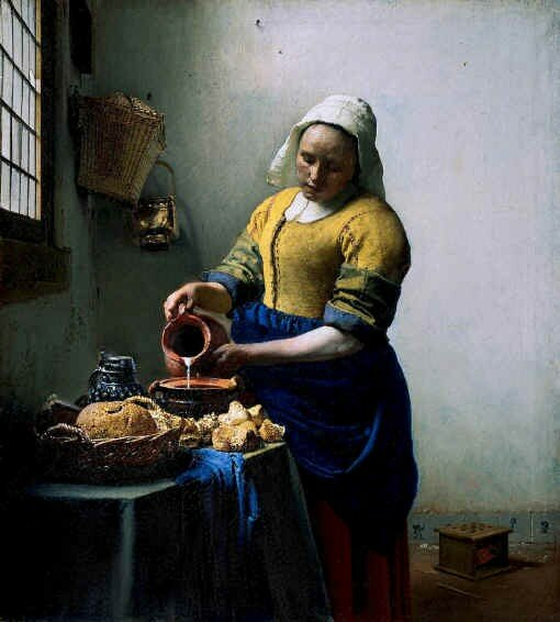 Vermeer - The Kitchenmaid