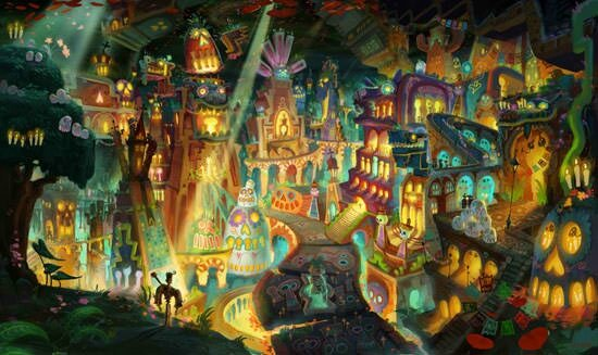 The Book of life (concept-art 1)
