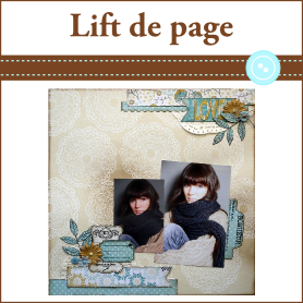 Lift page scrap a la carte janvier