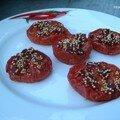 Tomates tika massala confites