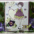 Carte Prima Doll - Mars 2014