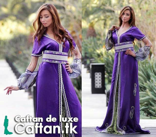 Caftan marocain de mariage haute couture - Caftan haute couture ...