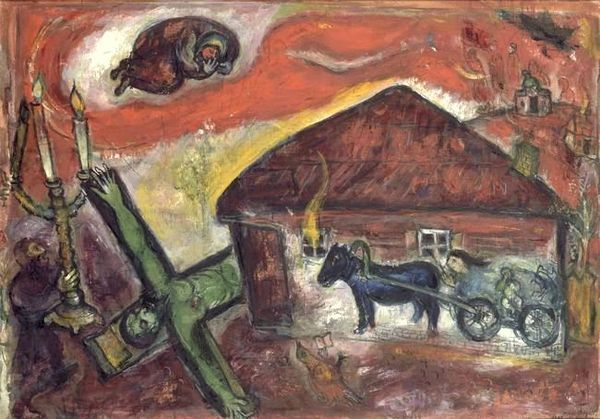chagall -obsession 1943