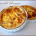 Petites quiches lorraines