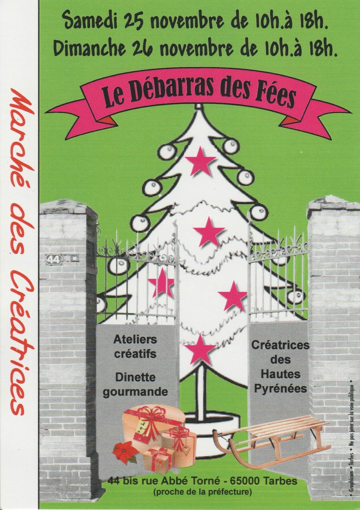 Image result for Marché de Noël debarras des fees à Tarbes (65)