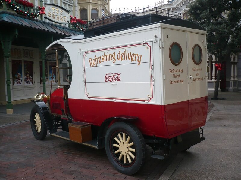 FORD Model T Main Street Deliveries Truck Réplica par Severn Lamb Marne la Vallée - Disneyland (2)