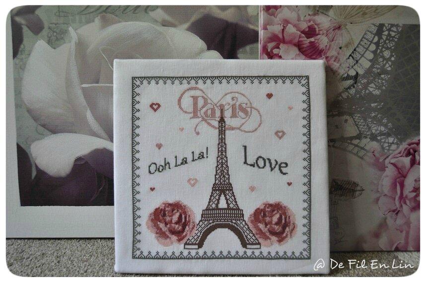 Cadre I Love Paris