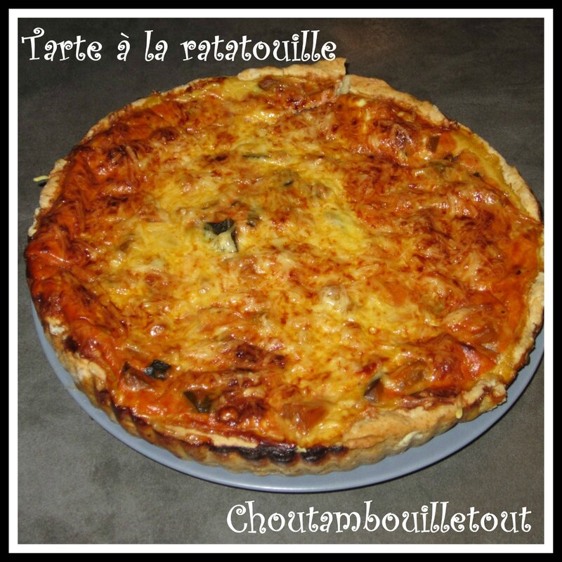 tarte ratatouille