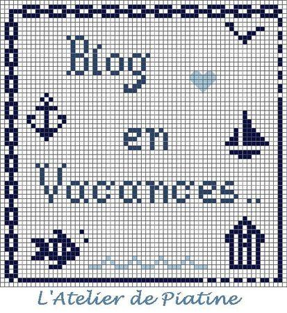 grille Blog en vacances