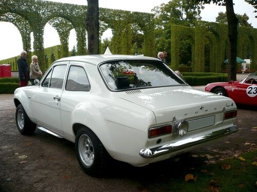 FORD Escort RS 1600 berline 2 portes 1973 Schwetzingen (2)