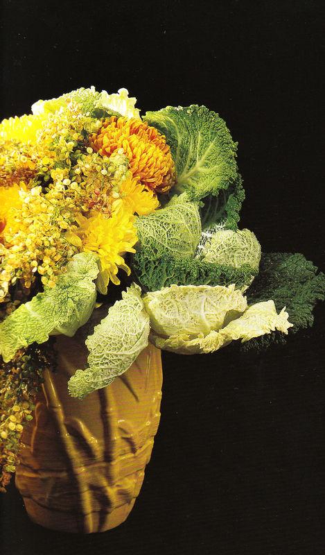 chou et chrysanthème