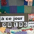 Tricot compteur du 14 septembre 2014 : 8196 créations réalisées depuis le 3 mai 2012 !