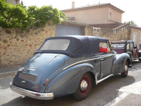 HOTCHKISS 1350 Anthéor cabriolet 1951 Poussan (2)