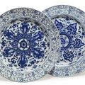 Chinese blue & white porcelains @ christie's, the althorp attic sale