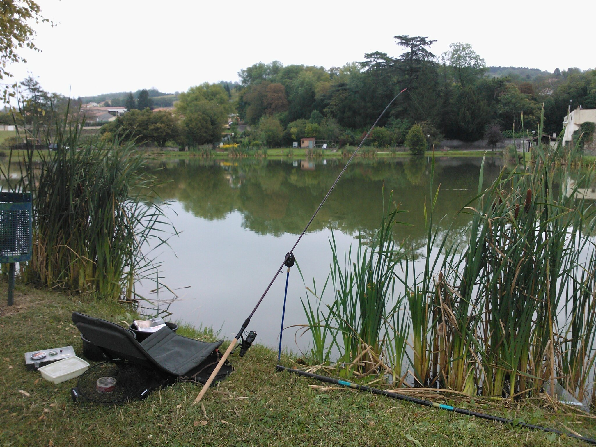 "Test Red Rang Carp feeder 11"" et... record !"