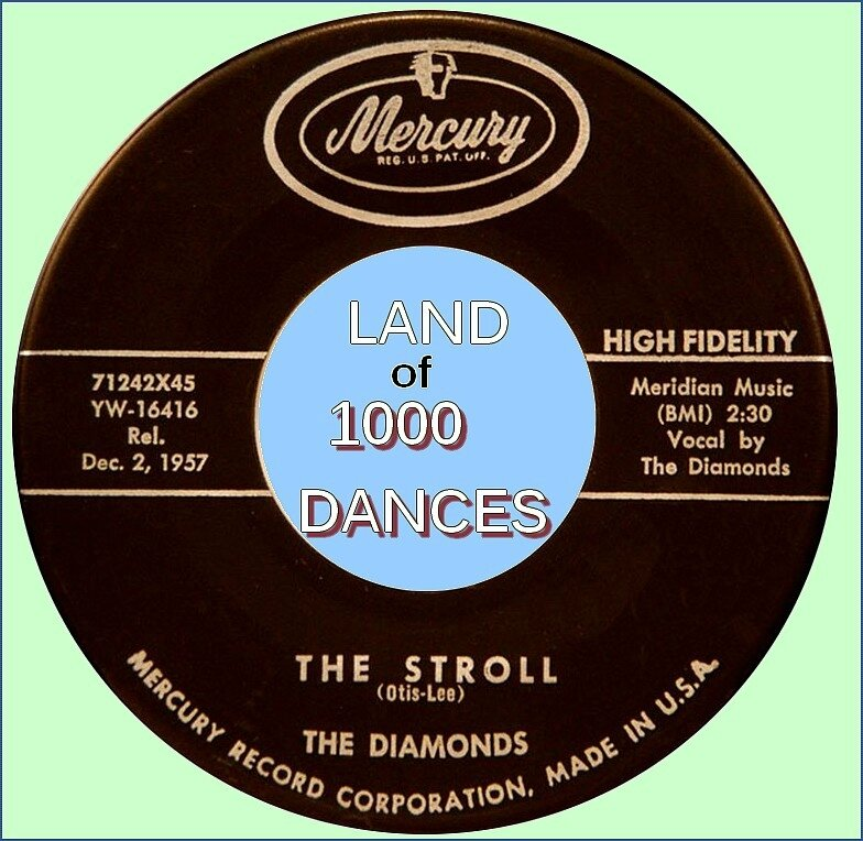 the-diamonds-the-stroll-1957
