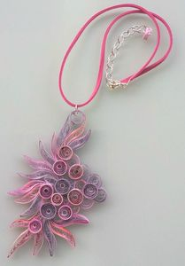 collier quil rose mauve 3