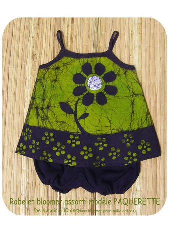 ROBE ET BLOOMER PAQUERETTE BLOG