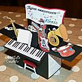Card in a box piano - profil 2