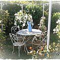 Un petit coin de paradis dans notre jardin.....