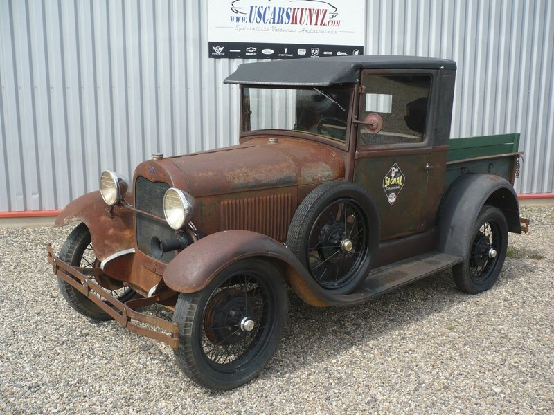 FORD Model A 2door pick-up 1929 Dachstein (1)