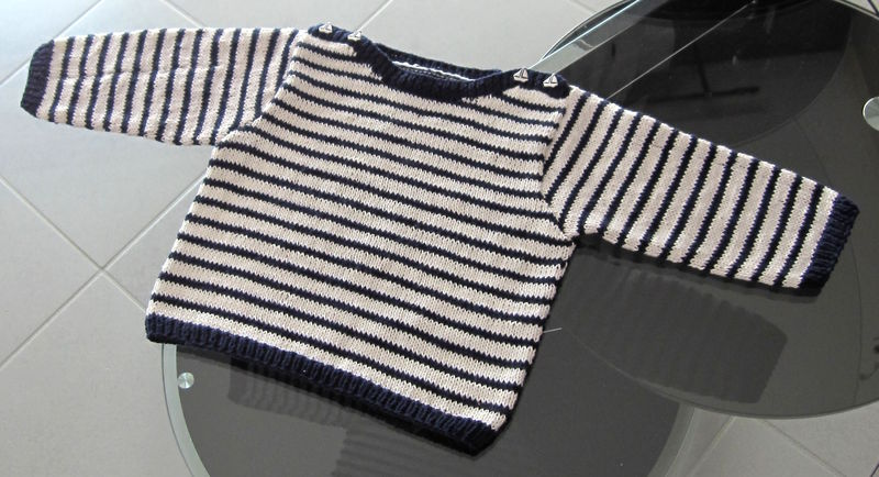 Pull marin 2 celinepassion - Tricot aiguilles circulaires magic loop ...