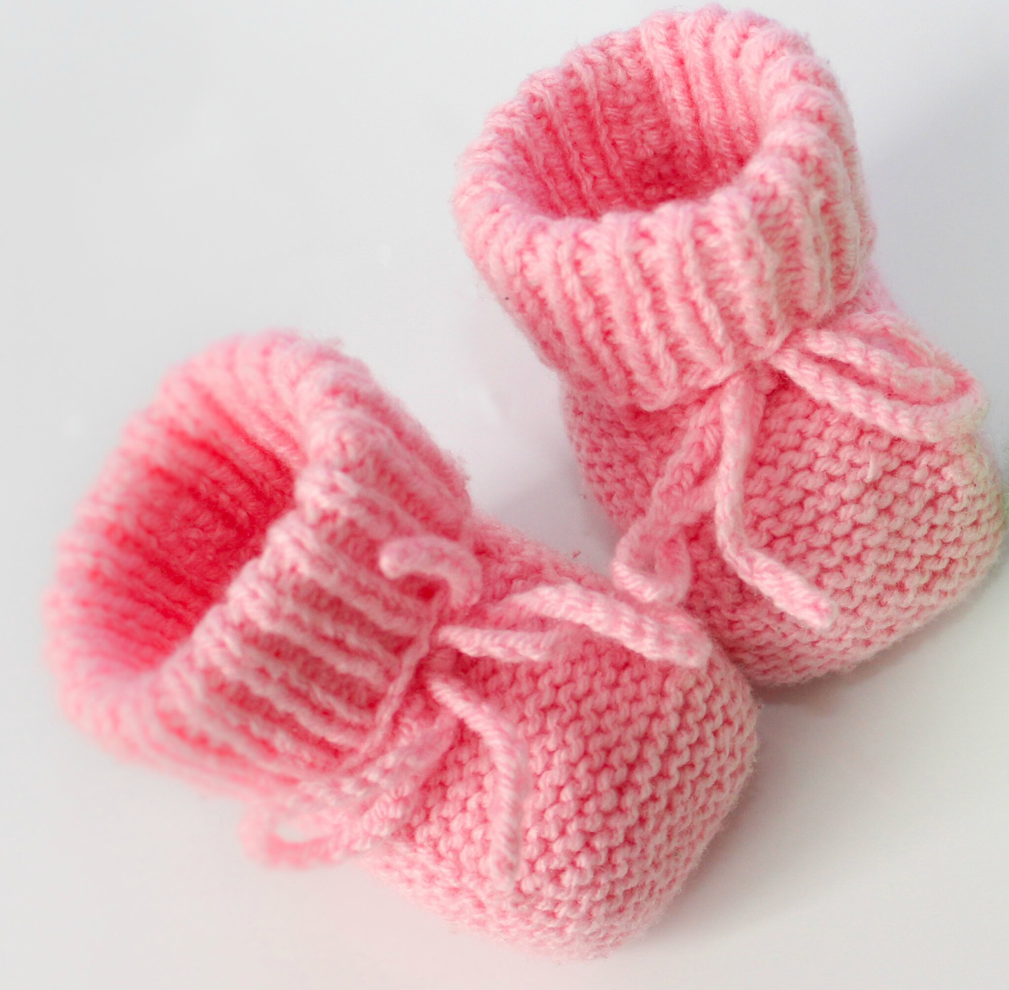 modele tricot chaussons layette