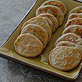 Blinis maison pour l'apéritif (farine de sarrasin et lait d'amande)