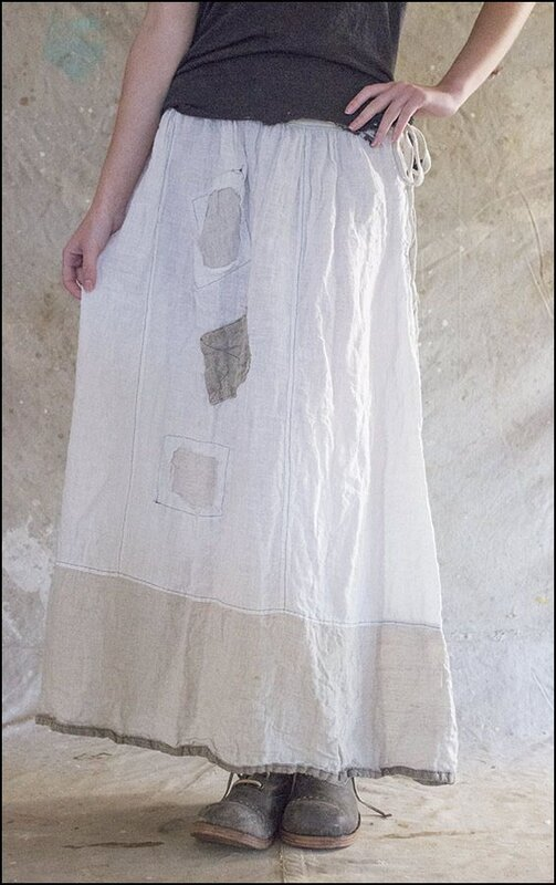 Celestyna Skirt 066 Antique White and Flax.01.jpg