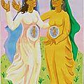 Visitation de la vierge marie à sa cousine elisabeth