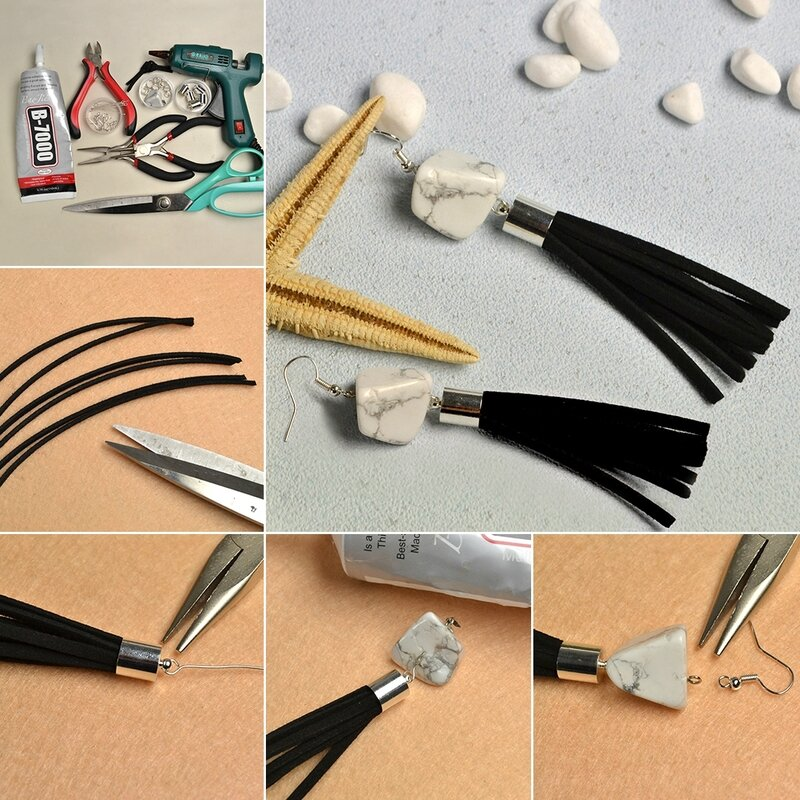 1080-Easy-Tutorial-on-How-to-Make-Tassel-Earrings-with-Suede-Cord-and-Gemstones