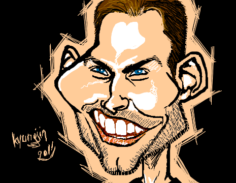 Seann William Scott caricature American Pie