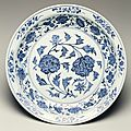 Dish, ming dynasty, yongle period, 1403-1424