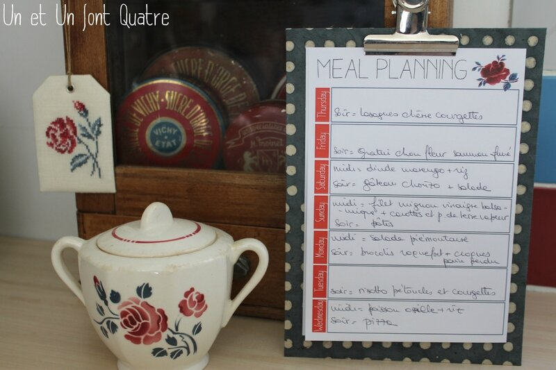 Meal planning (4)