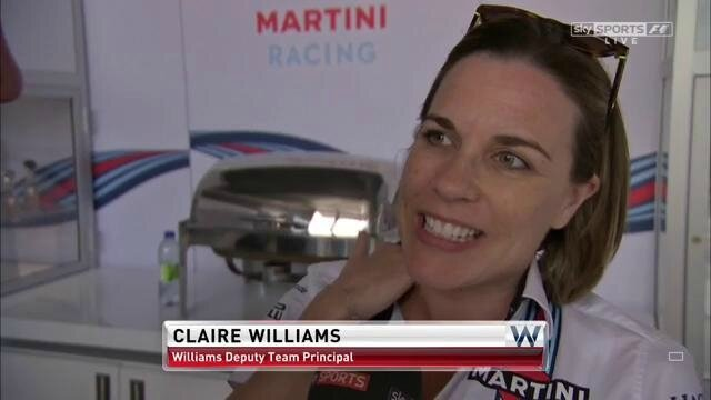 f1 usa 2017 claire williams deputy