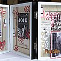Dt scrapboo'kit - triptyque famille (cadre zodio)