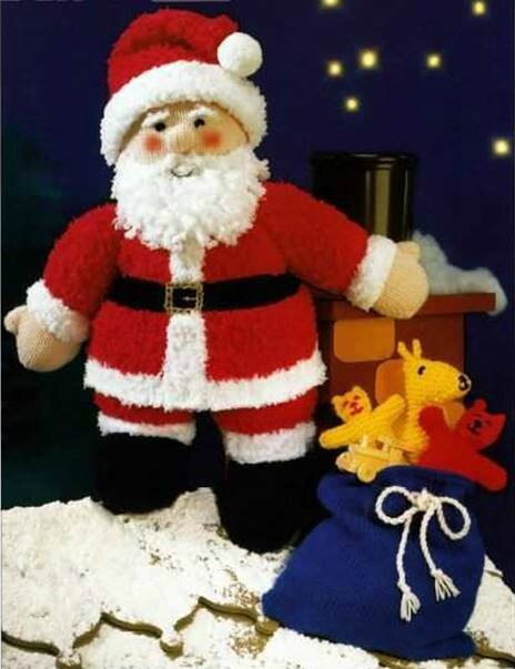 Traduction Father Christmas Toy - Sirdar
