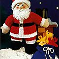 Father christmas toy - sirdar
