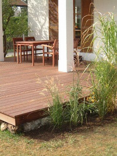 Id e terrasse en bois photo de id es d co jardin les for Idee deco terrasse bois