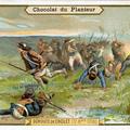 Chromo la déroute de Cholet (17 octobre 1793)