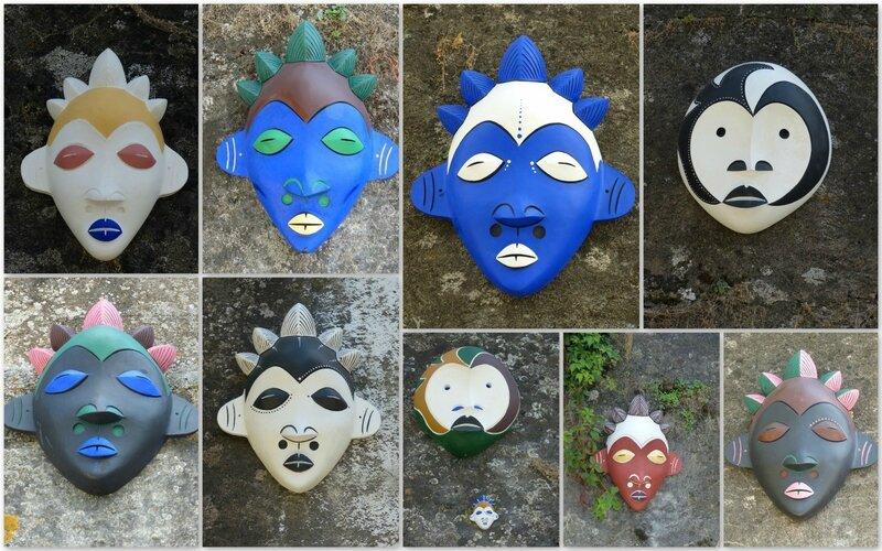 masques berges Saône1