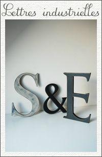 1) Lettres industrielles