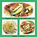 Coquelets aux kiwis et aux fruits secs, un délice !!!