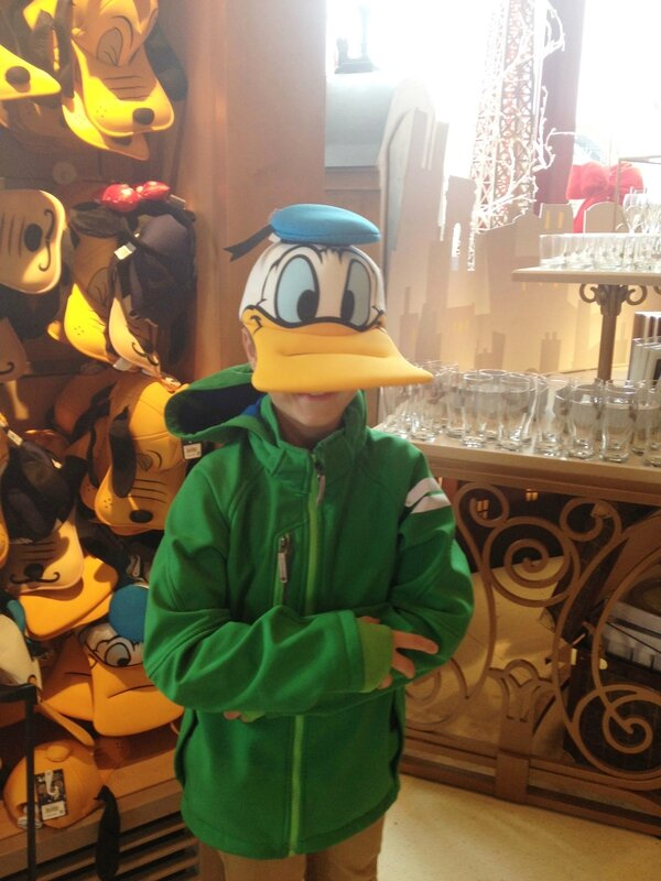 Disneyland Paris casquette Donald