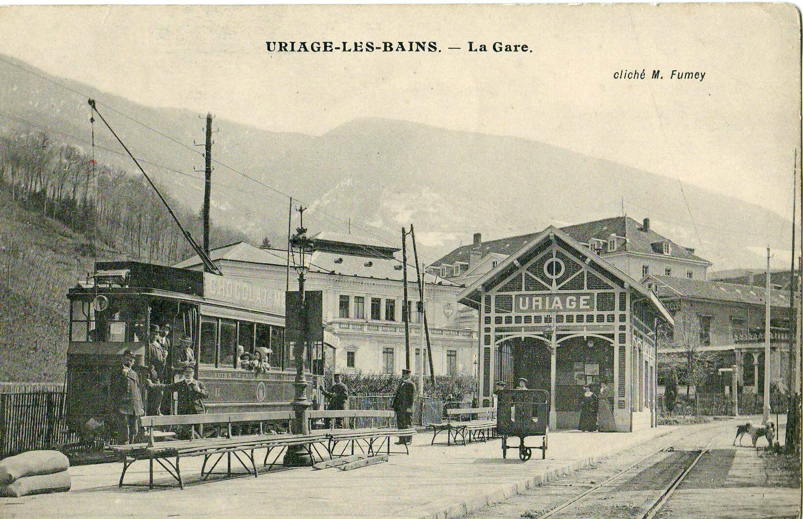 les tramways de grenoble - premi u00e8re  u00e9poque  1893