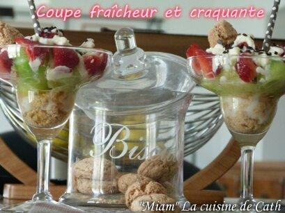 "ღ ""MIAM"" Coupe fraîcheur et craquante"