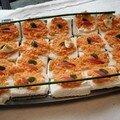 Recettes du buffet: toasts carottes et les entrèes