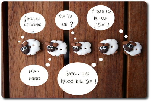 n°17 - Les moutons d'Isastuce