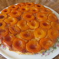 Tarte lgre  l'abricot