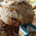 Petits pains aux dattes et miel (au levain)